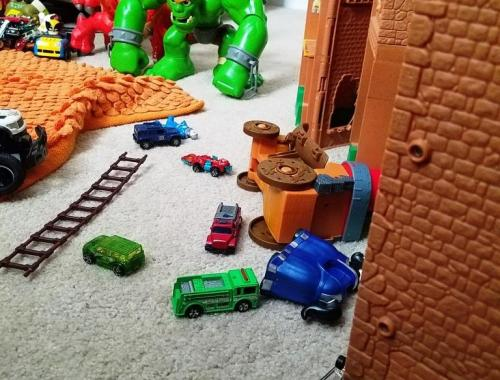 toddler destruction of a parent's world