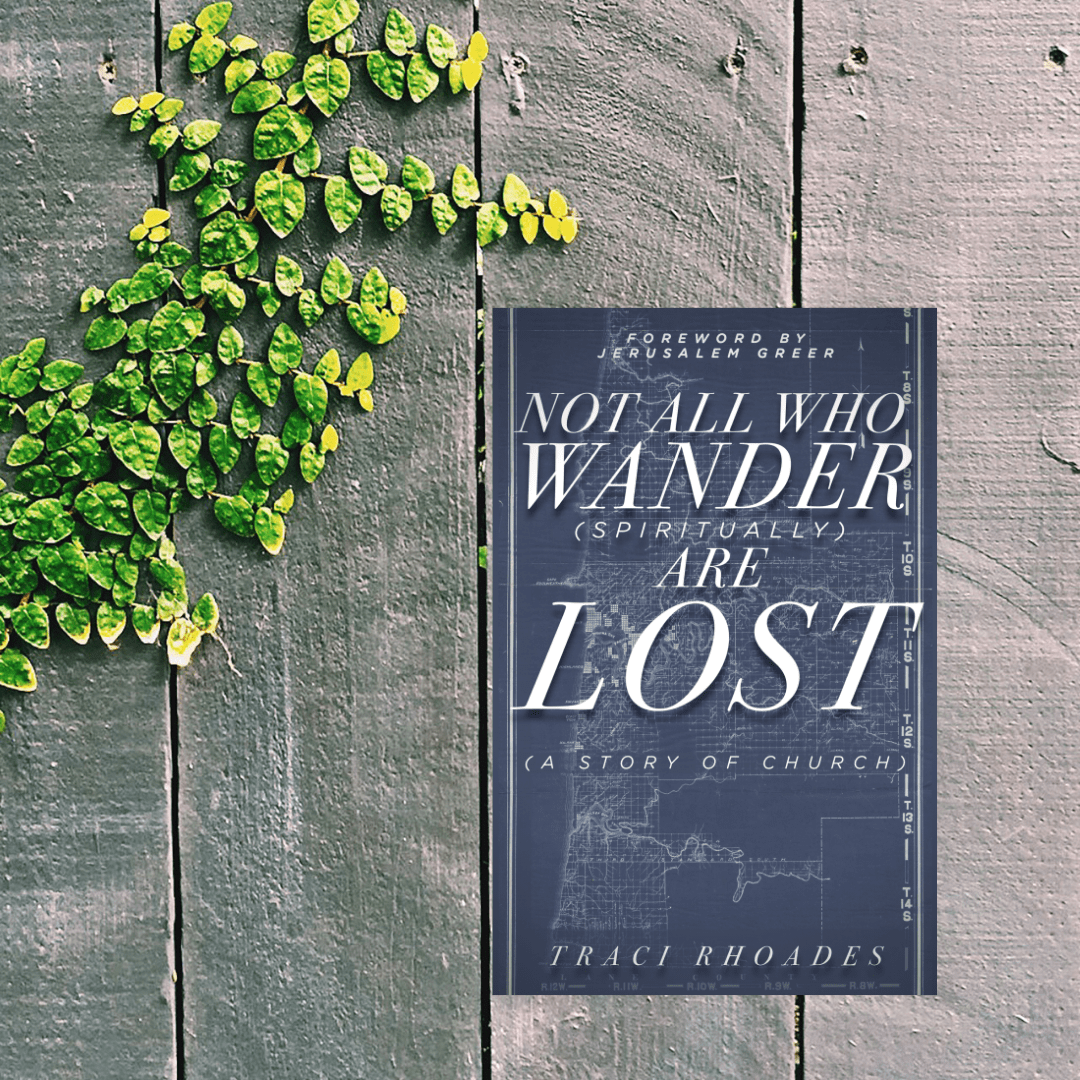 image of the book not all who wander spiritually are lost
