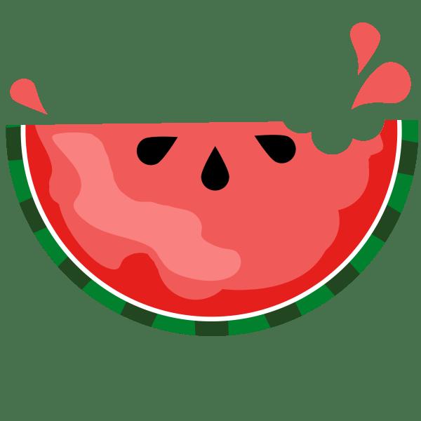 Watermelon Digital Paper Sandra' Graphic Design