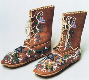 Eunice Carney, Dance Boots, 20th century. Collection of the Newark Museum.