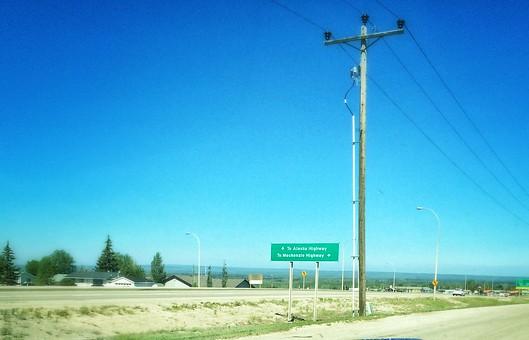 To Grande Prairie, AB
