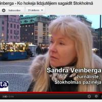 Ko darīt Stokholmā hokeja faniem?