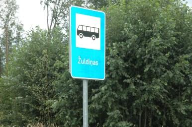 Žuldiņas autobusu pieturu