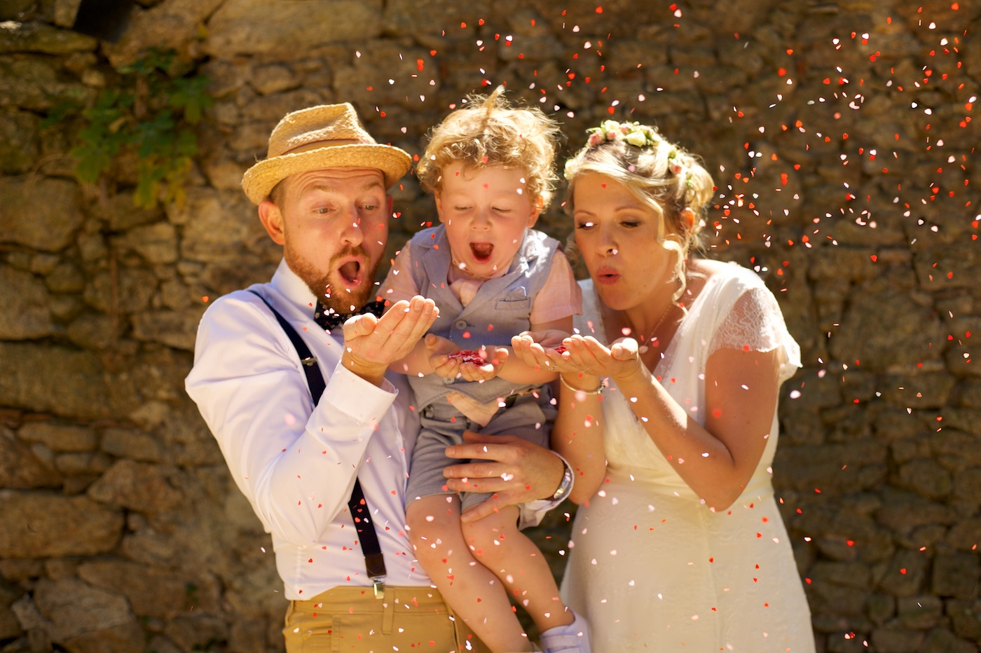 Sandrine Bonvoisin, photographe de mariage en Bretagne.