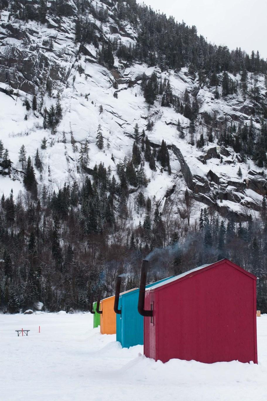 Ancienne cabane à Baie Eternité