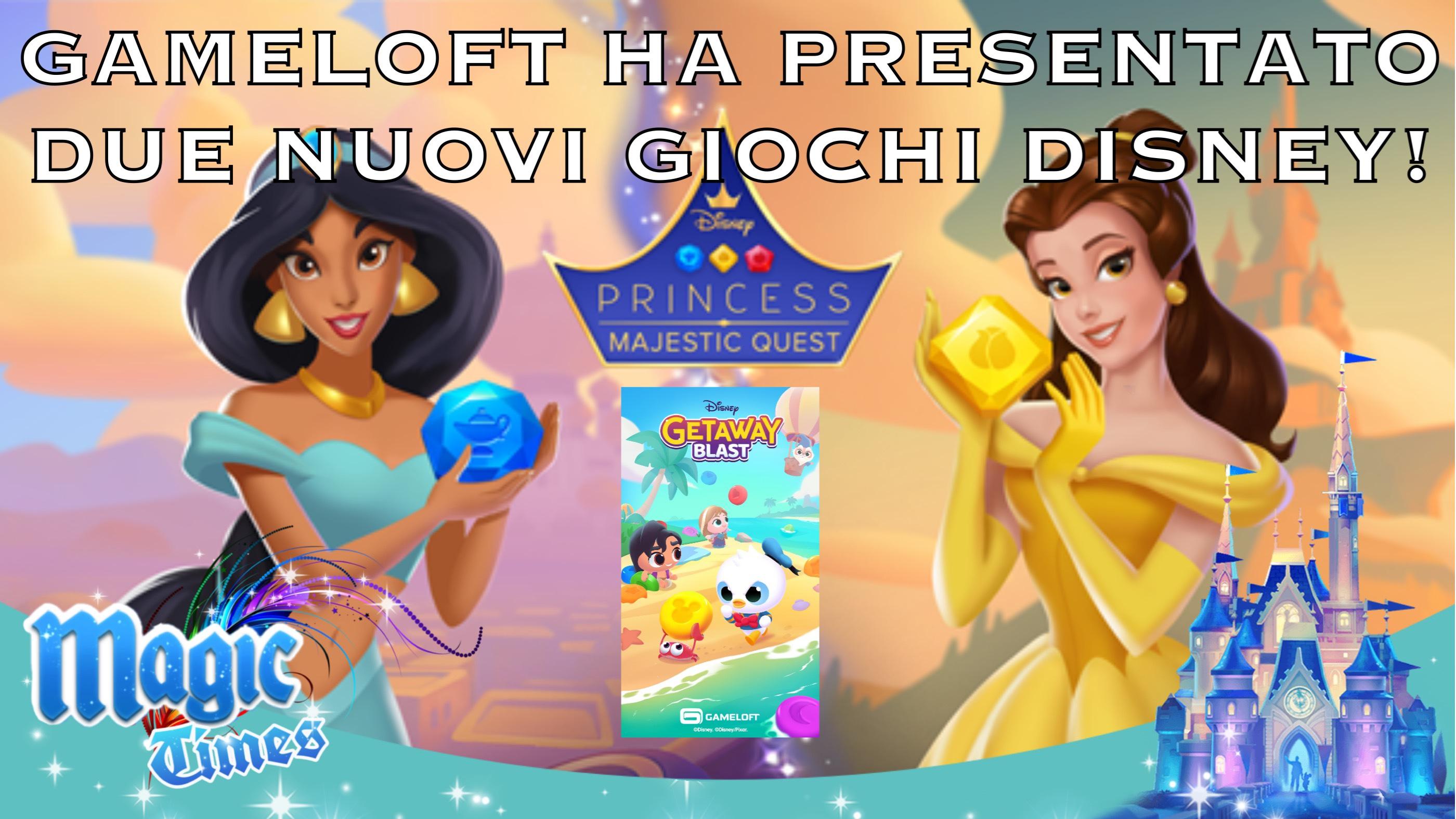 Gameloft ha presentato due nuovi giochi Disney!