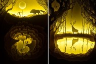 Paper-Cut-Light-Boxes-by-Hari-Deepti-5-600x401