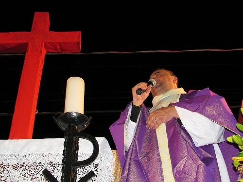 Padre José Geraldo - Reitor do Santuário de São Benedito/Foto: Sandro Vagner