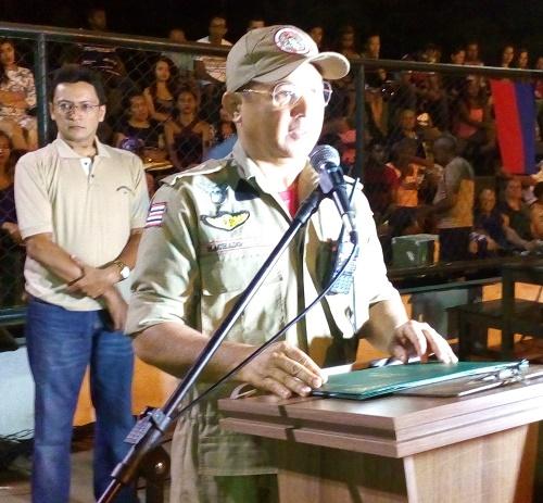 Tenente Machado - Corpo de Bombeiros/Foto: Sandro Vagner