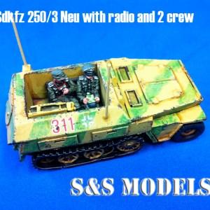 Sdkfz 250/3 neu command half track