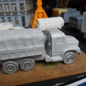 USMC MTVR 5 ton 6x6 truck