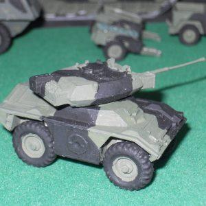 CVRW Fox armoured car