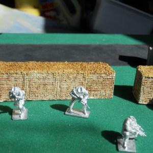 Hesco bastion straight wall (28mm)