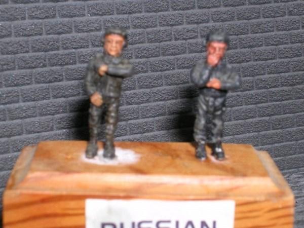 Cold war Russian/Warpact tank crew