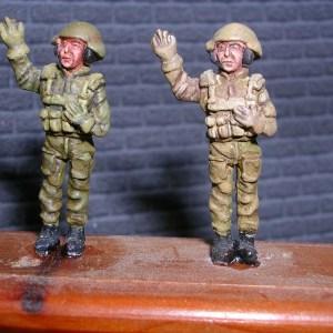 Cold war Israeli tank crew