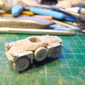 Ferret mk 1 armoured car