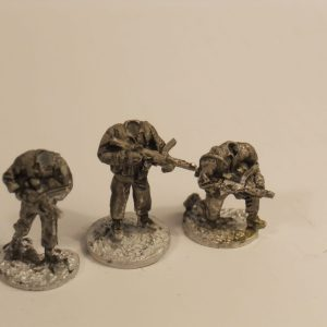 W/Europe sterling smg armed muilti head infantry pack of 6