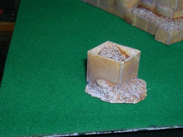 H14 Hesco dmaged large single block