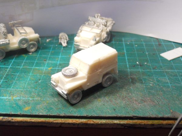 1/2 ton Land Rover soft top