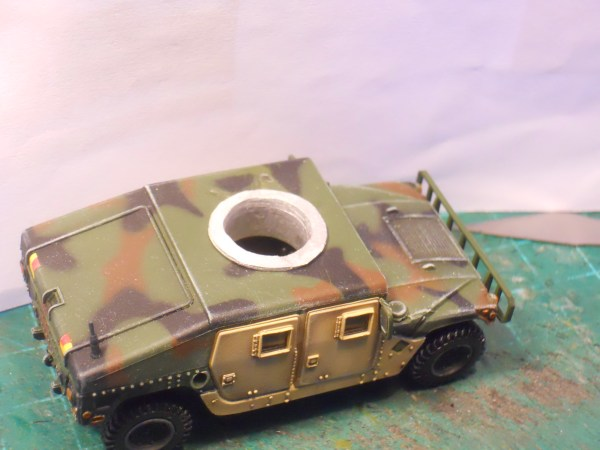 Humvee GPK turret & adaptor ring