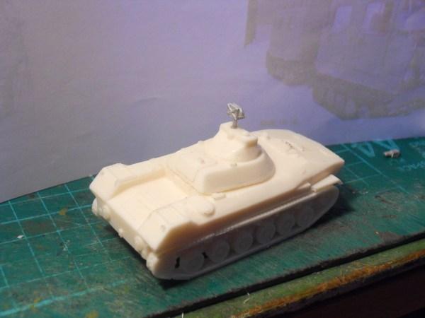 BMD V119 reostat art command/op vehicle