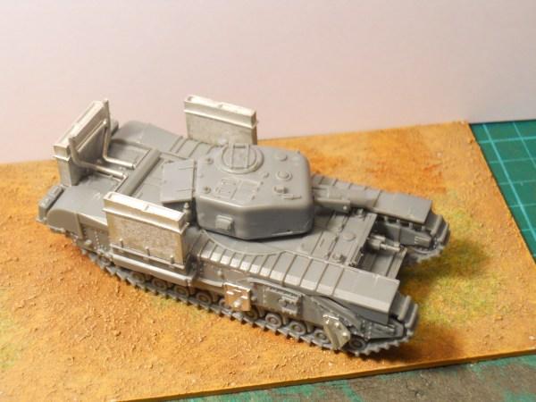 1/72 Churchill deep wading trunks kit
