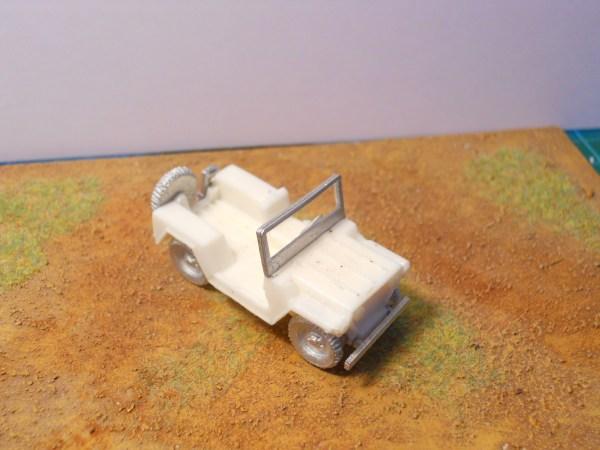 Basic Ford MUTT & trailer