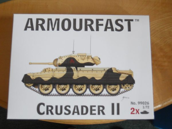 Armourfast 1/72 scale Crusader tank kit