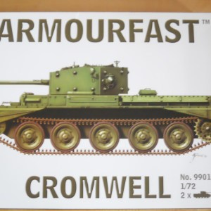Armourfast 1/72 scale Cromwell tank kit
