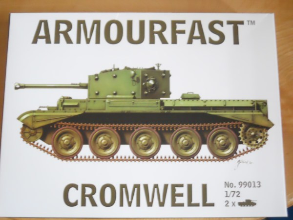 1/72 Armourfast Cromwell (x2) & 1 x Centaur dozer kit offer