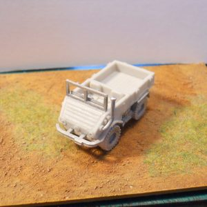 Very early cold war Unimog 4x4 truck