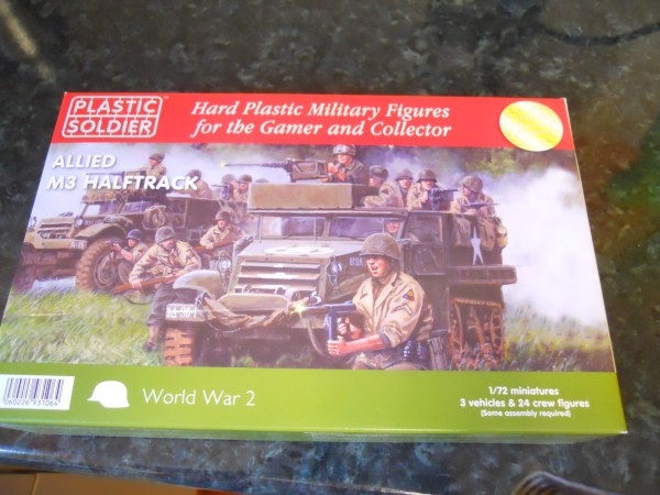 Plastic Soldier Company M3 half track pk of 3