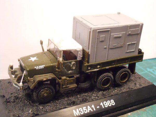 M35 2.5 ton 6x6 truck cab tilt