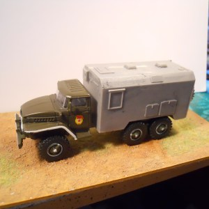 Ural 375 BM21 MLRS & office body conversion special offer