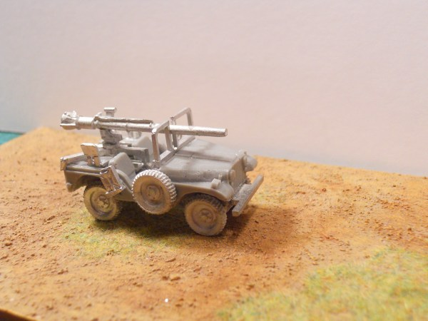 M38a1 Jeep & recoilless rifle