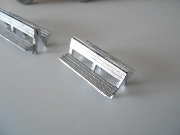Troop seats (pair) for open trucks