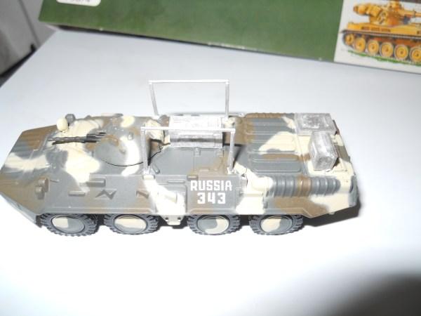 BTR 80 Command conversion