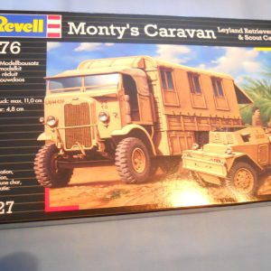 Matchbox Monty's caravan kit