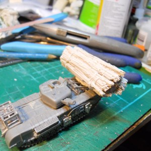 single PSC 15mm Churchill avre fascine & cradle conversion offer