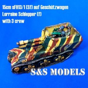 15cm sFH13/1 sf Lorraine Schlepper (f)