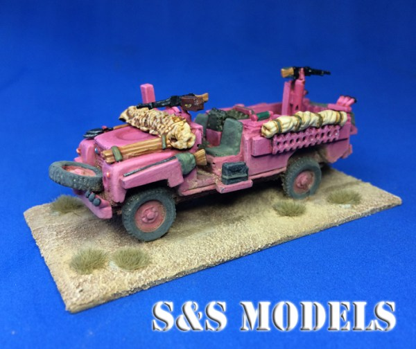 Pink Panther SAS Land Rover 109in