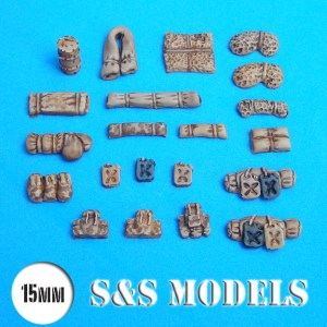 15mm Assorted stowage pk of 30