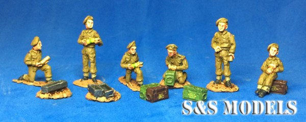 25 pdr crew (pk of 6)