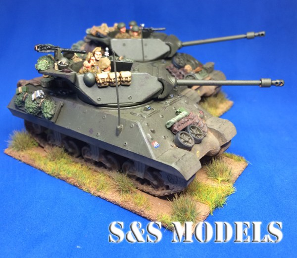 1/72 M10 & M10 Achilles stowage (Twin)