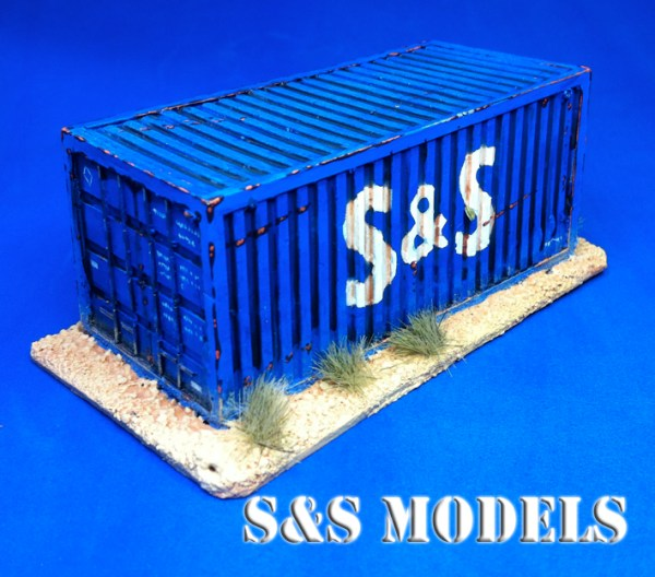 Standard 20ft ISO shipping container