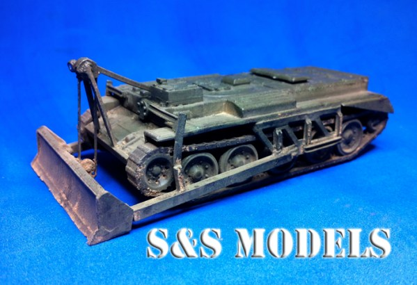 1/72 scale Centaur dozer conversion kit