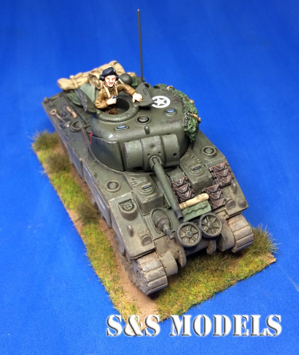 1/72 Early hulled M4 stowage (single)