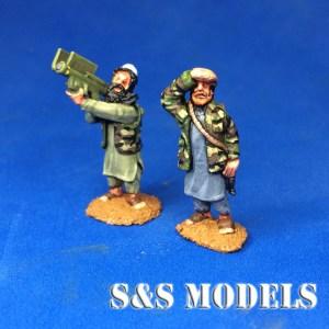 Mujahideen Stinger a/a missile team