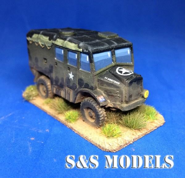 Morris FAT 25pdr tractor mk3