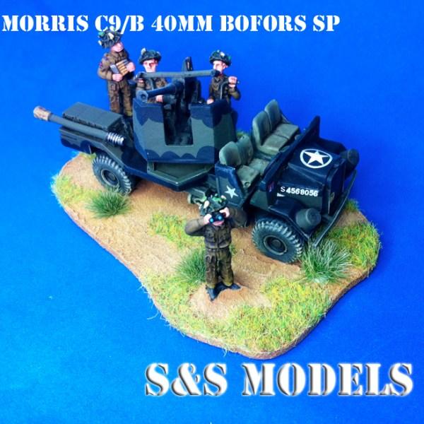 WW2 British Bofors crew pk